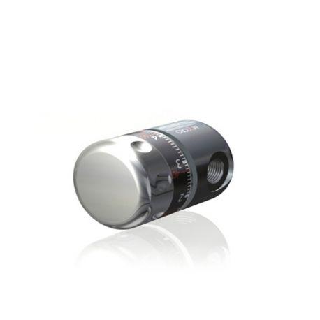 Riduttore di pressione CO2 per bombole monouso con attacco M11x1 - design compatto
