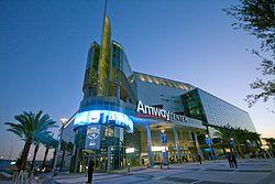 Amway arena where the Orlando Magic play...go Dwight Howard!