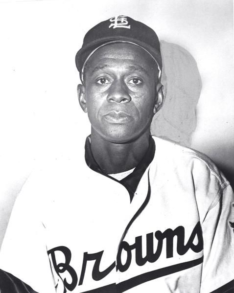 """Leroy """"Satchel"""" Paige, American Negro Leagues and MLB pitcher & baseball legend. He was named All-Time Outstanding Player, and was the 1st player from the NL to be elected into the Baseball Hall of Fame. He was among the most famous & successful players from the Negro Leagues. His outstanding control as a pitcher, his infectious, cocky, enthusiastic personality and his love for the game made him a star. Sports Illustrated named him the hardest thrower in the history of baseball. R.I.P."""