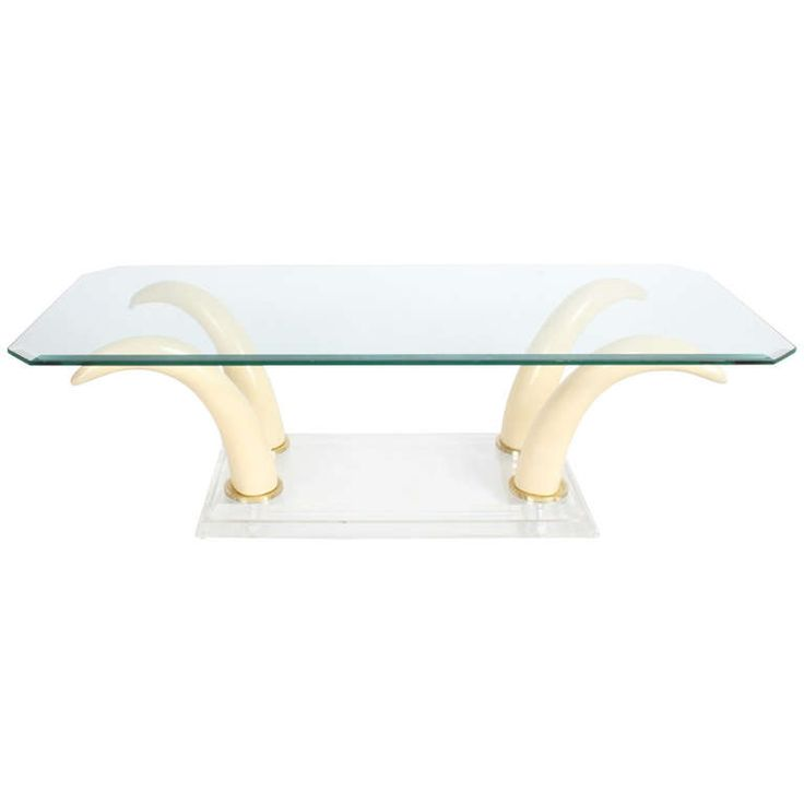 11 Best Images About Lucite Coffee Tables On Pinterest