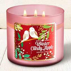 Winter Candy Apple 3-Wick Candle - Home Fragrance 1037181 - Bath & Body Works