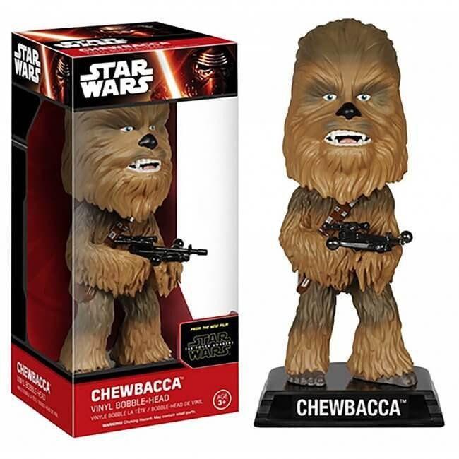 Toy - Star Wars: The Force Awakens - Wacky Wobbler - Chewbacca