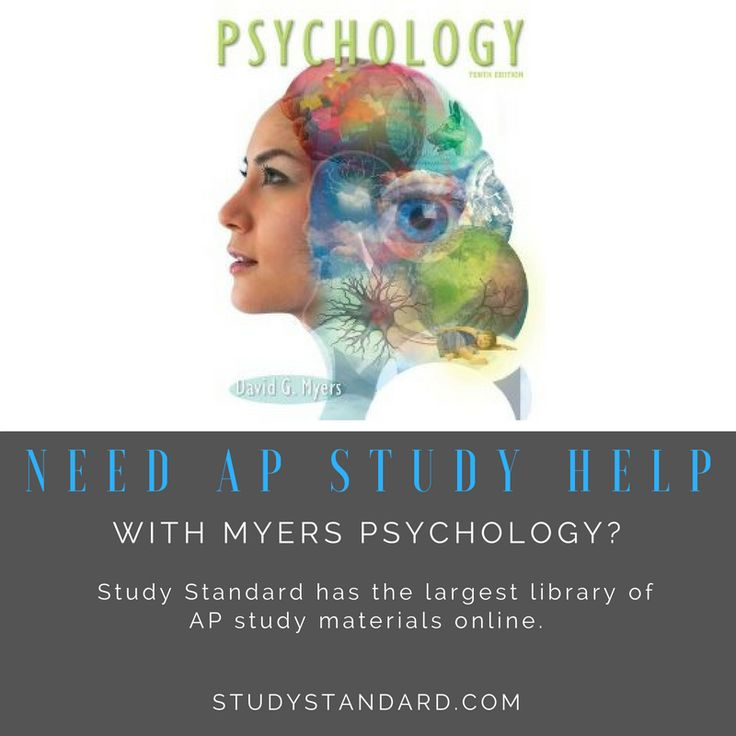 Need AP study help with Myers' Psychology? We have everything you need right here! https://www.studystandard.com/browse/ap-notes/ap-psychology/textbooks/myers-psychology/myers-psychology--10th-edition-2857 #myerspsychology #appsych #appsychology #highschoolteacher #apteacher #apushistory #apush #apworldhistory #apworld #aphis #apwh #aphumangeography #aphug #apgovernment #apgov #apchem #apchemistry #apbiology #apbio #apenglish #aplit #apliterature #apeuro #apeconomics #apcalculus #apcalc…