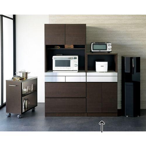 HSII キッチン収納シリーズ ステンレス天板 レンジ台|家具収納・インテリア雑貨専門 通販のハウススタイリング(house styling)