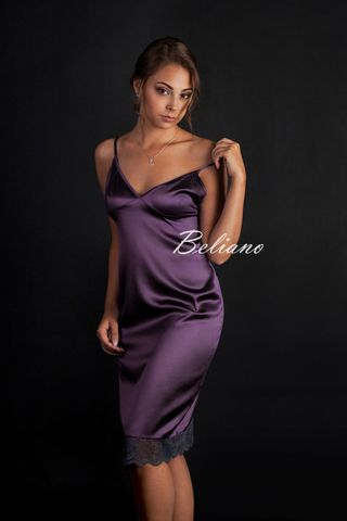 beliano.com.ua Шелковое ночное платье (платье-комбинация из натурального шелка) купить в Beliano\ silk nightgown \ sleepdress
