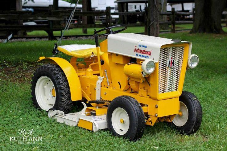 Old Cub Cadet Mowers : International cub cadet garden lawn tractors