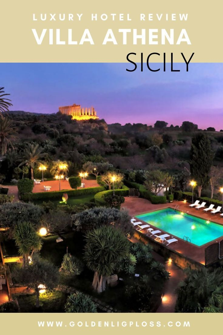 Villa Athena Agrigento A Luxurious Journey In To The Sicilian Ancient History Agrigento Sicily Luxury Hotel