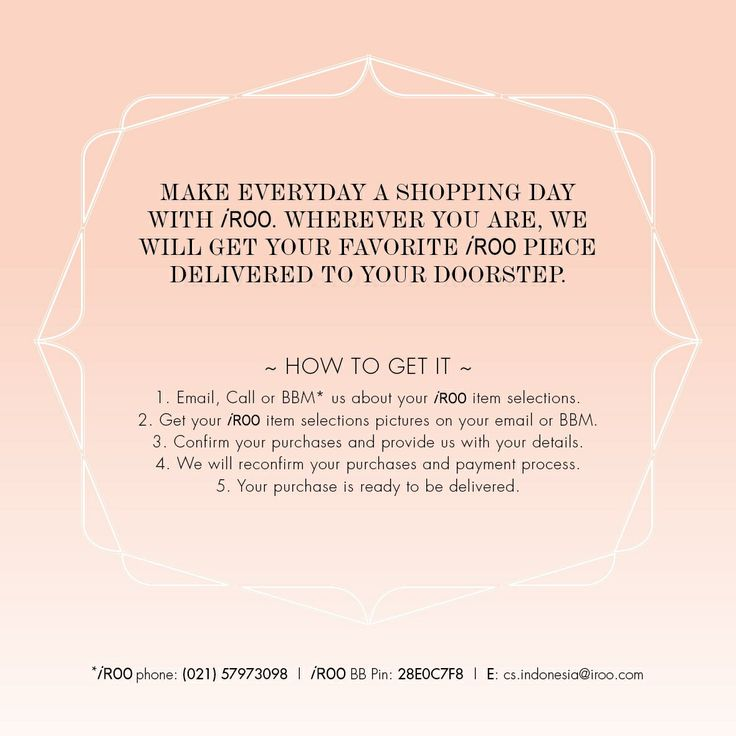 It's start of the week & don't let your style needs be forgotten.Now you can follow these simple steps in shopping with us & have your goods delivered to your home! #irooindonesia #fashion #style #stylish #love #TagsForLikes #me #cute #photooftheday #nails #hair #beauty #beautiful #instagood #instafashion #pretty #girly #pink #girl #girls #eyes #model #dress #skirt #shoes #heels #styles #outfit #purse #shopping