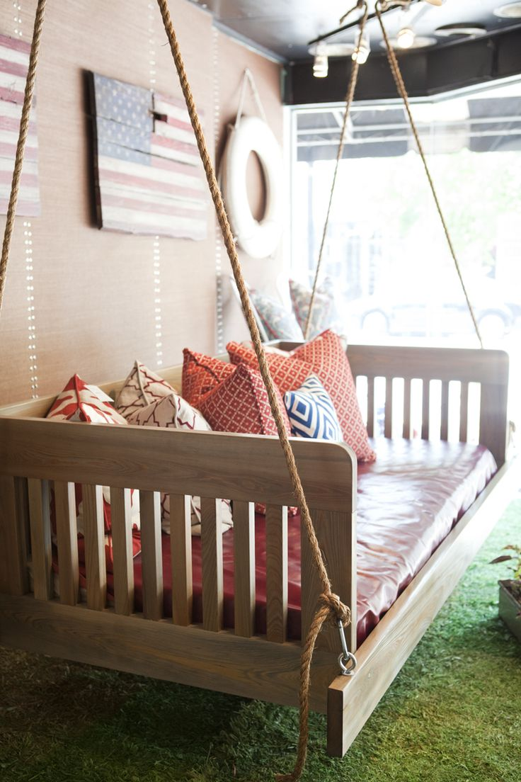 best garden style diy homebnc for swing bed designs porch party ideas arbor and
