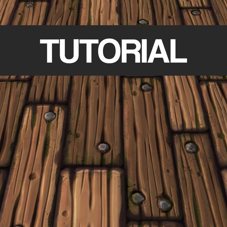 Tutorial - Stylized Wood Texture, Tobias Koepp on ArtStation at…