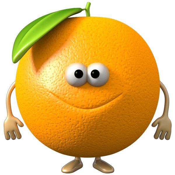 Vinilos Infantiles: Naranja