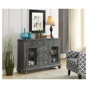 Kino Traditional Storage Cabinet - Grey - Christopher Knight Home : Target