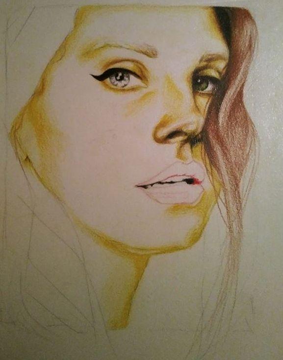 Lana Del Rey-in progress by DarwiO
