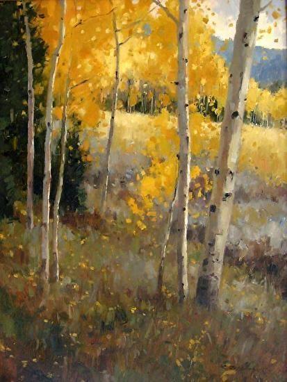 "Kate Kiesler | Aspen Archway  Oil  24 x 18"""