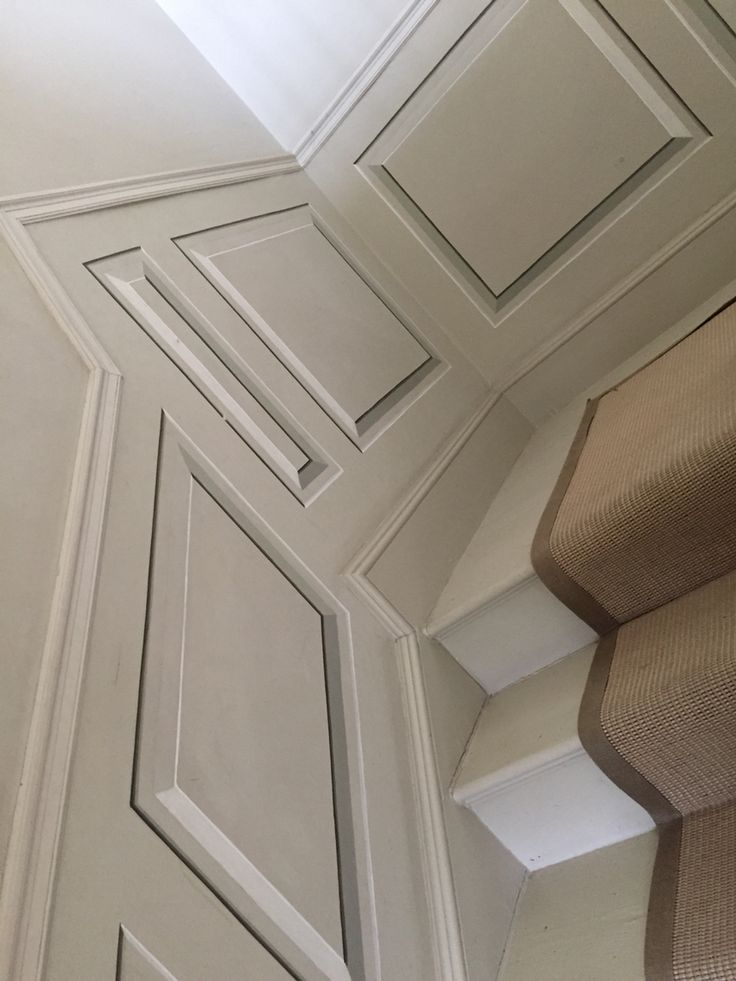 Trompe L'oeil Stair Panelling