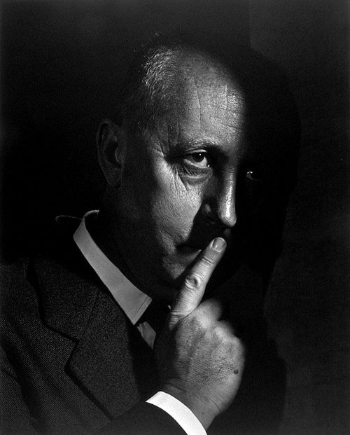 Christian Dior | by Yousuf Karsh