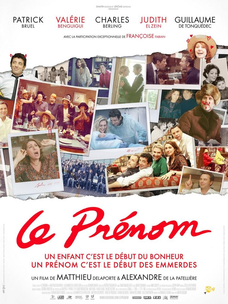 """""""Le prénom""""  5/5 Coup de <3!"""