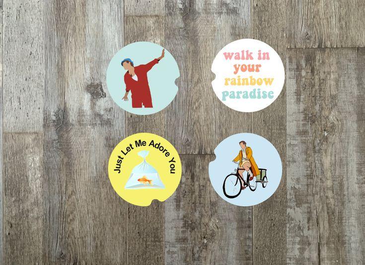 Adore you inpsired car coaster sets gift idea decor etsy