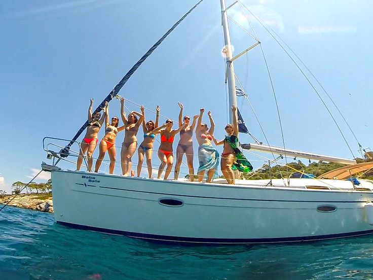 Half Day Sailing Cruise to Kelyfos island with BabaSails Yachting #sail #sailing #halkidiki #greece #babasails