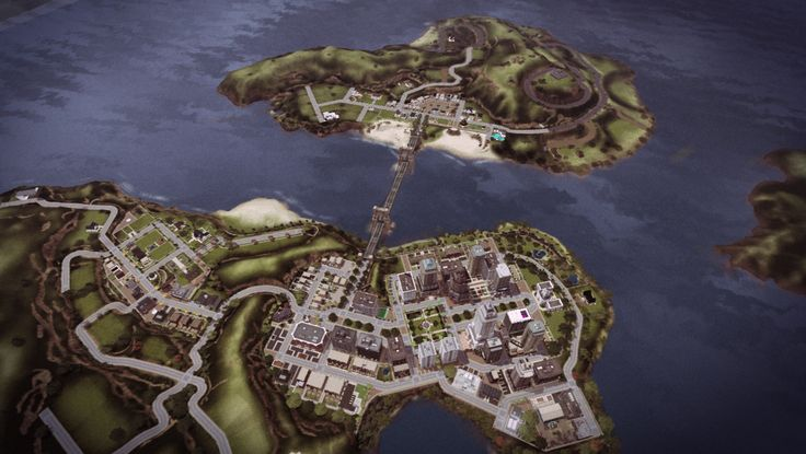 St. Claire: a fully featured, all EP small town/country/city world >> Awesims
