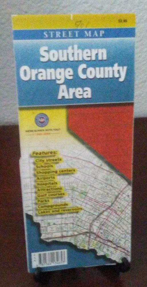 Southern Orange County Area  Map