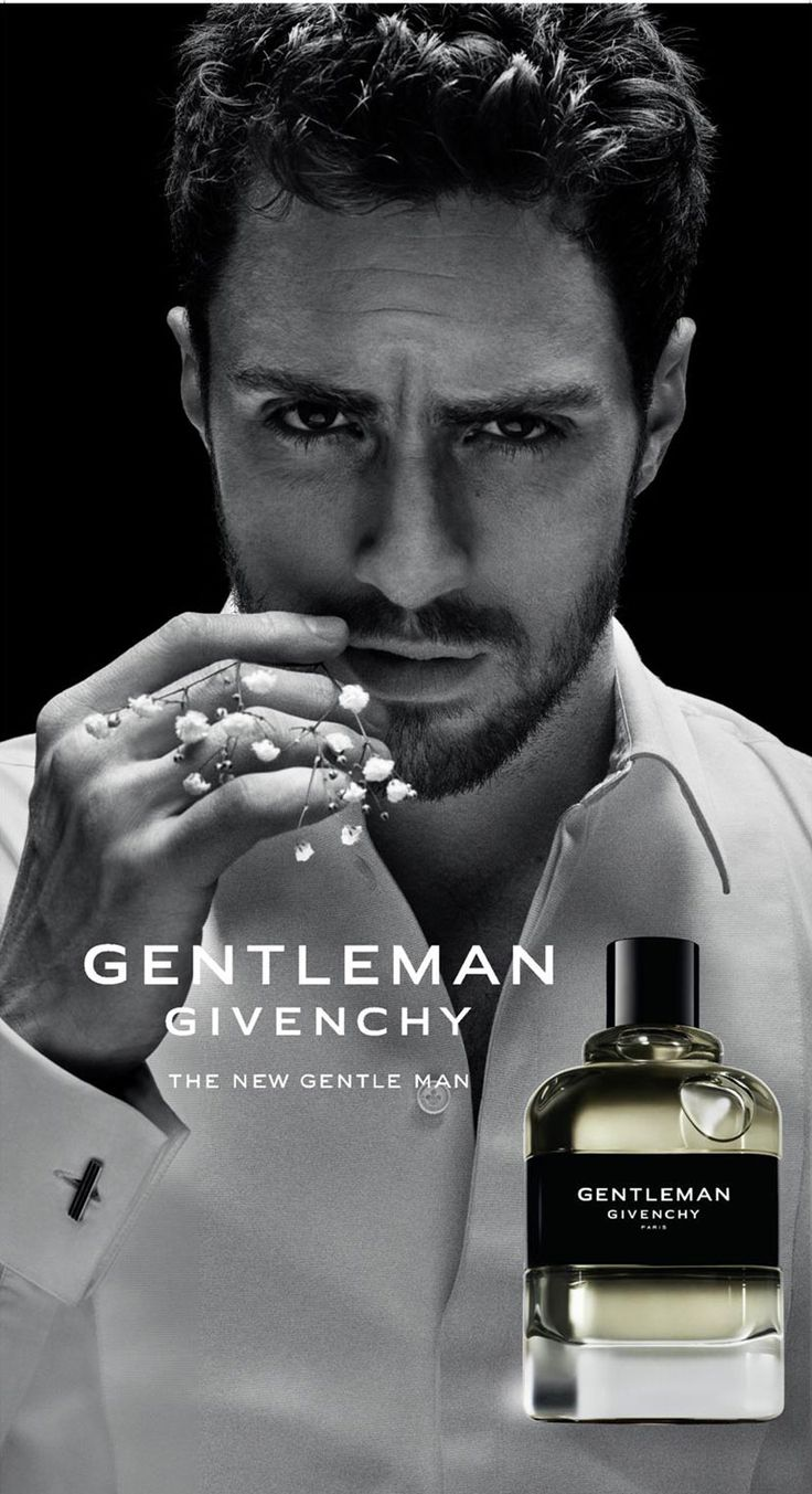 Aaron Taylor-Johnson for Givenchy Gentleman (2017) for men