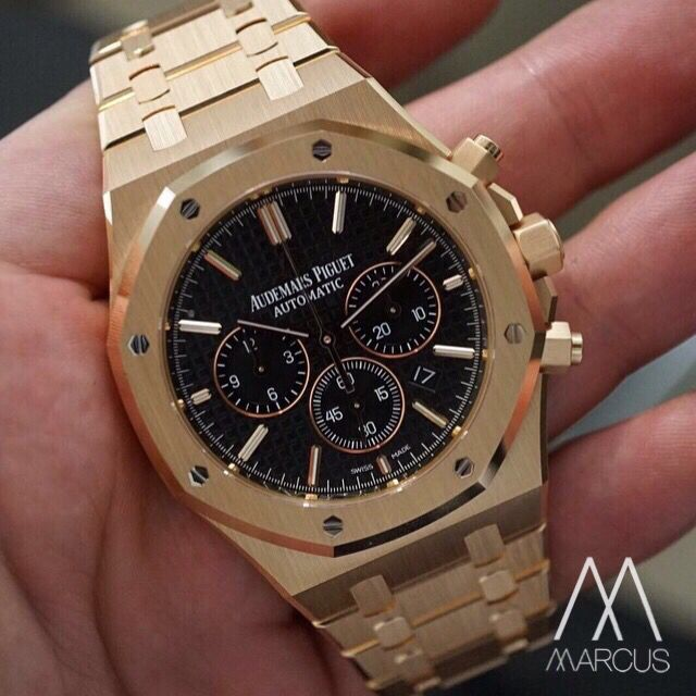 82e32f248e4 Audemars Piguet Royal Oak 41mm Chronograph in 18ct rose gold ...