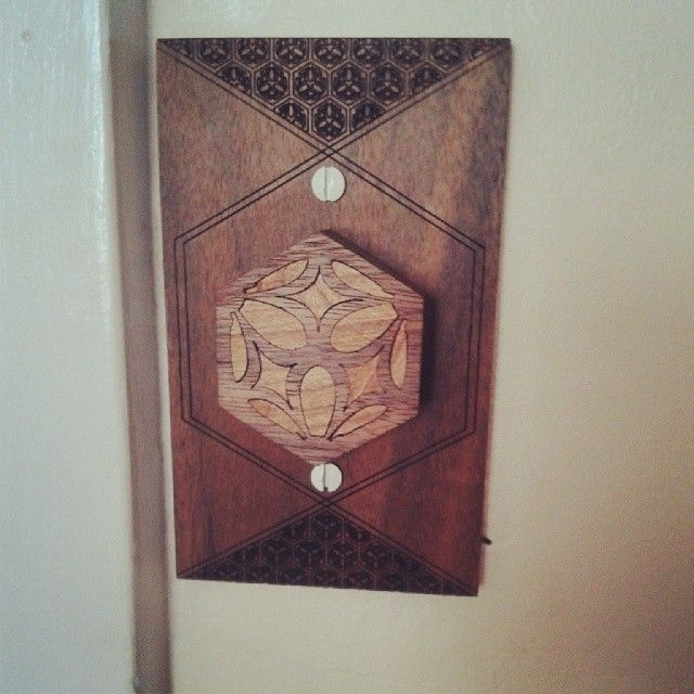 New light switch cover and dial