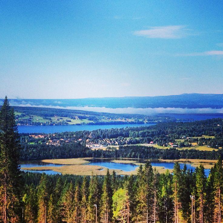 Utsikt från Frösön, Sweden