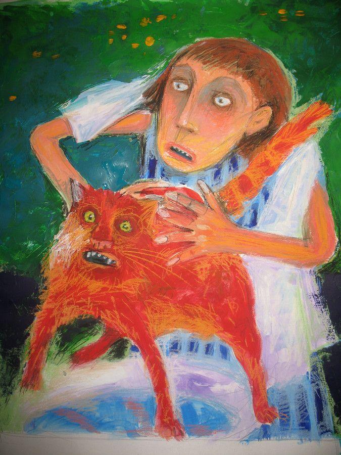Купание красного кота - Bathing the Red Cat | Елена Шумахер - Elena Schumakher