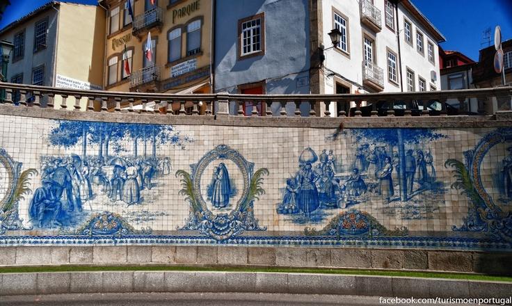 Tiles in Viseu, Azulejos en Viseu
