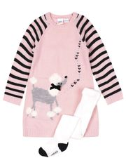 Rococo 2-piece Set Tunic and Thighs for Little Girls