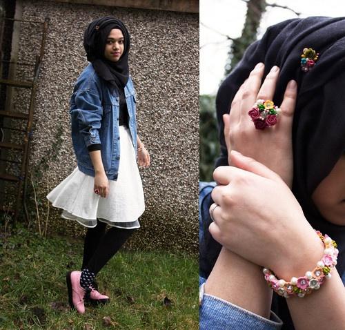 Vintage Girl (by Saima Chowdhury) - Hijab style