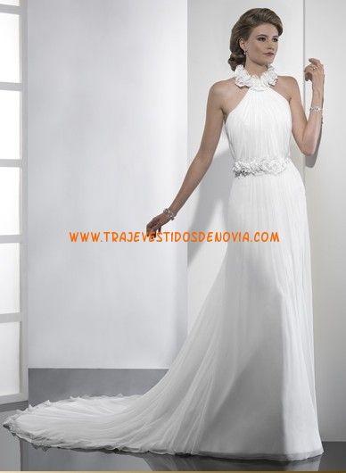 T-Espalda Gasa vestidos de novia 2012