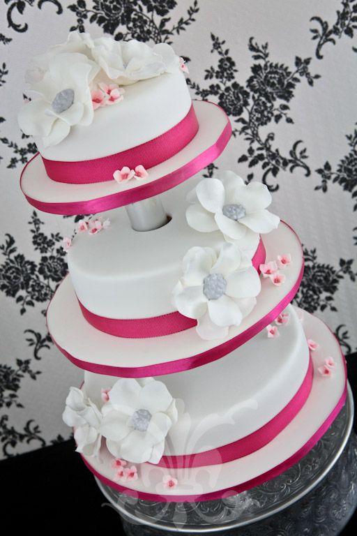 Hochzeitstorte - Pink Fantasy