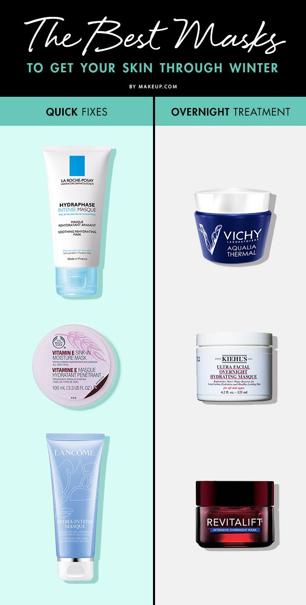 Cold weather can wreak havoc on your skin, so we know you've been upping your skincare routine until winter is over. To treat your seasonally irritated and flaking skin, we've rounded up some of the BEST masks to get you through this harsh winter.