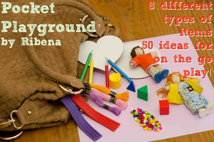 Pocket-Playground - 8 different items, 50 activities to keep them busy. Ideal for trips and holidays. Love it.: Pockets Playground, 50 Ideas, For Kids, Fun Plays, Bags 101, 50 Activities, Playground Ideas, Activities Ideas, Bags Ideas