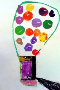 Kindergarten-Second grade  DISCUSSION : repetition What does it mean to repeat? Show one of Wayne Theibaud's Gumball Machines ...