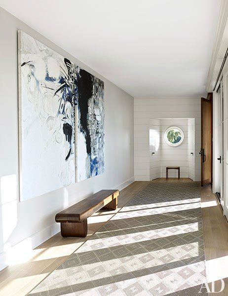 Blue White Gallery Style