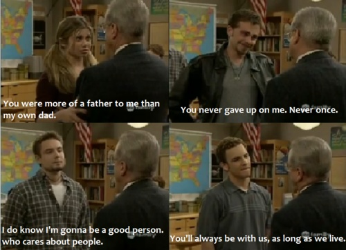 Boy Meets World final scene. I remember bawling my eyes out. I miss it soso much. <3