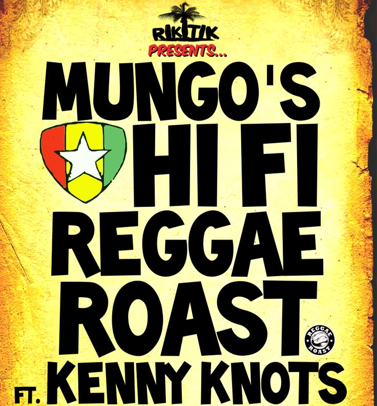 Sat 25th Jan Brighton's #1 Caribbean party spot, Riki Tik presents the first in a series of events in 2014! Get down to Concorde 2 for a heavyweight session of Roots, Dub and Dancehall, with Mungo's Hi Fi / Reggae Roast featuring Kenny Knots / Dagger Sound / Fat Lion Hi Fi  This is a pay at the door event. Click the image and get your names on the wall for guest list £3 entry. £5 on door before midnight, more thereafter.