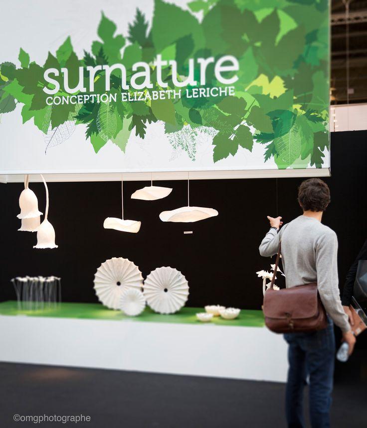 Installation Surnature - Elizabeth Leriche - Maison & objet - Septembre 2015 #dccv #ducotedechezvous #deco #design #mo15 #surnature #leriche