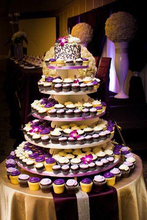 Wedding Cupcakes from Whimsical Cake Studio #yeg