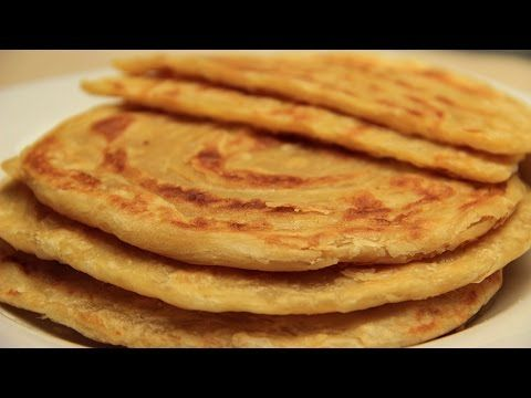Turkish Flatbread Recipe - Traditional Tahini Butter Flat Bread - YouTube