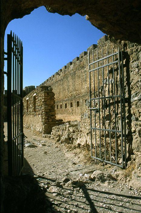 South Crete, fortress Frangokastello (built in 1371) Copyright: Artur Turyna
