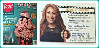 Food Network Star's Michelle Karam AKA The Mediterranean Mama