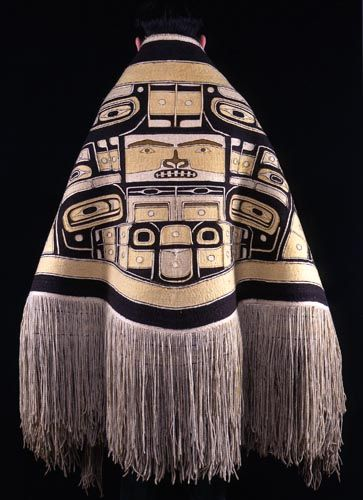 Chilkat Robe, ca.1850  Fenimore Art Museum | Robe