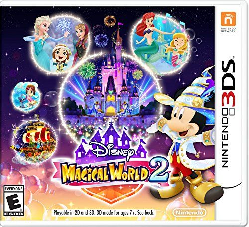 http://picxania.com/wp-content/uploads/2017/09/disney-magical-world-2-nintendo-3ds.jpg - http://picxania.com/disney-magical-world-2-nintendo-3ds/ - Disney Magical World 2 - Nintendo 3DS -   Price:    Disney Magical World 2!The follow up to the popular franchise, lets players enjoy a variety of new adventures.There are six Disney-themed worlds, such as exploring the world of Disney Frozen, dancing with Disney princesses or soaring through special Magical Dream events.Players w