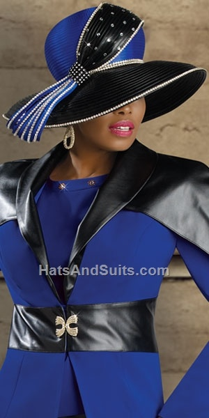 Image detail for -home previous styles donna vinci couture church hat h2067
