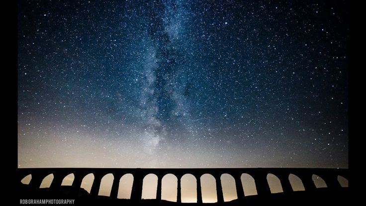 Ribblehead Viaduct Nr Ingleton asteroid shower